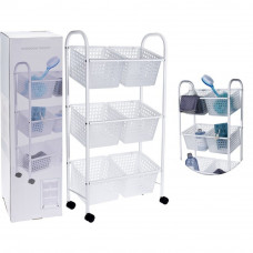 Pojazdný vozík so 6 košmi Bathroom Solutions 3042, 75 cm