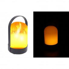 LED lampáš s efektom plameňa zent 0368