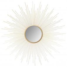 Nástenné dekoratívne zrkadlo Slnko Atmosphera 7041, 70 cm