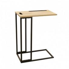 Bočný stolík s držiakom na tablet Home deco factory HD6585