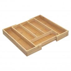 Bambusový príborník rozkladací 5Five 1258, 39 cm