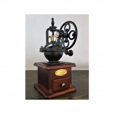 Drevený mlynček na kávu s kolieskom EuB 2606, 25 cm