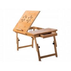 Skladací bambusový stojan na notebook VG1294