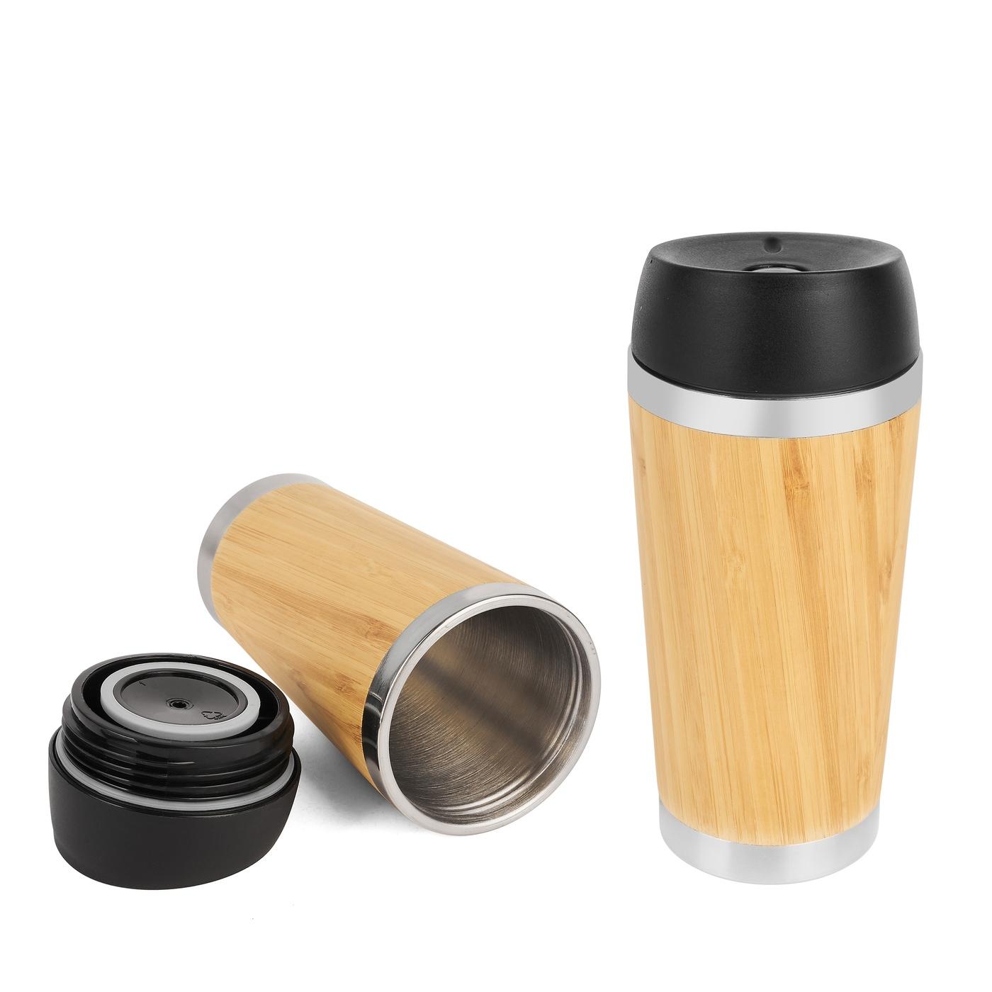 Bambusový termohrnček Tadar 7396, 450 ml