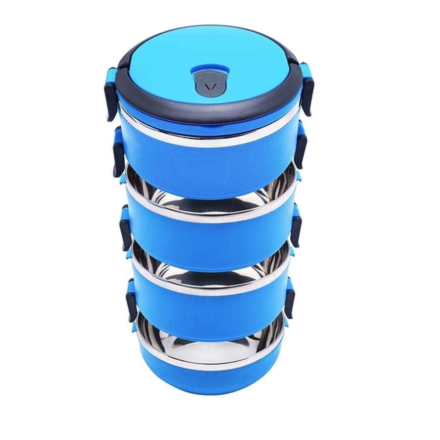 4-poschodový termoobedár Tadar 2,8 l modrý