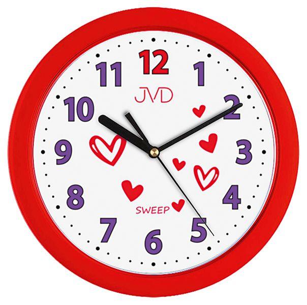 Detské nástenné hodiny JVD H12.2 25cm