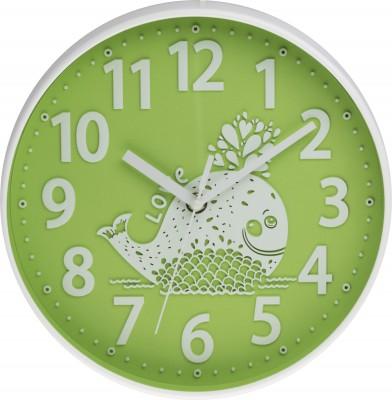 Detské nástenné hodiny MPM, 3229.40 - zelená, 25cm