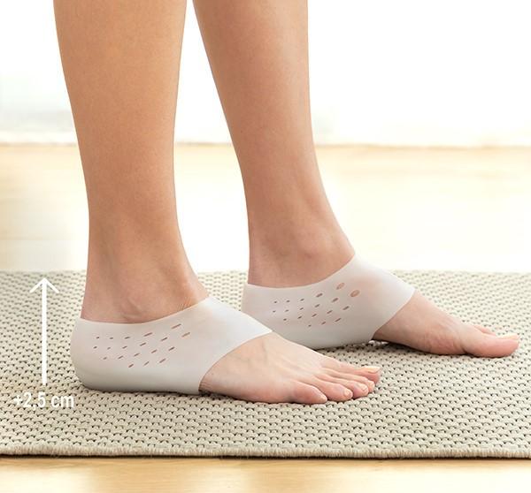 Zdvíhacie gélové vložky do topánok Innovagoods Elivate