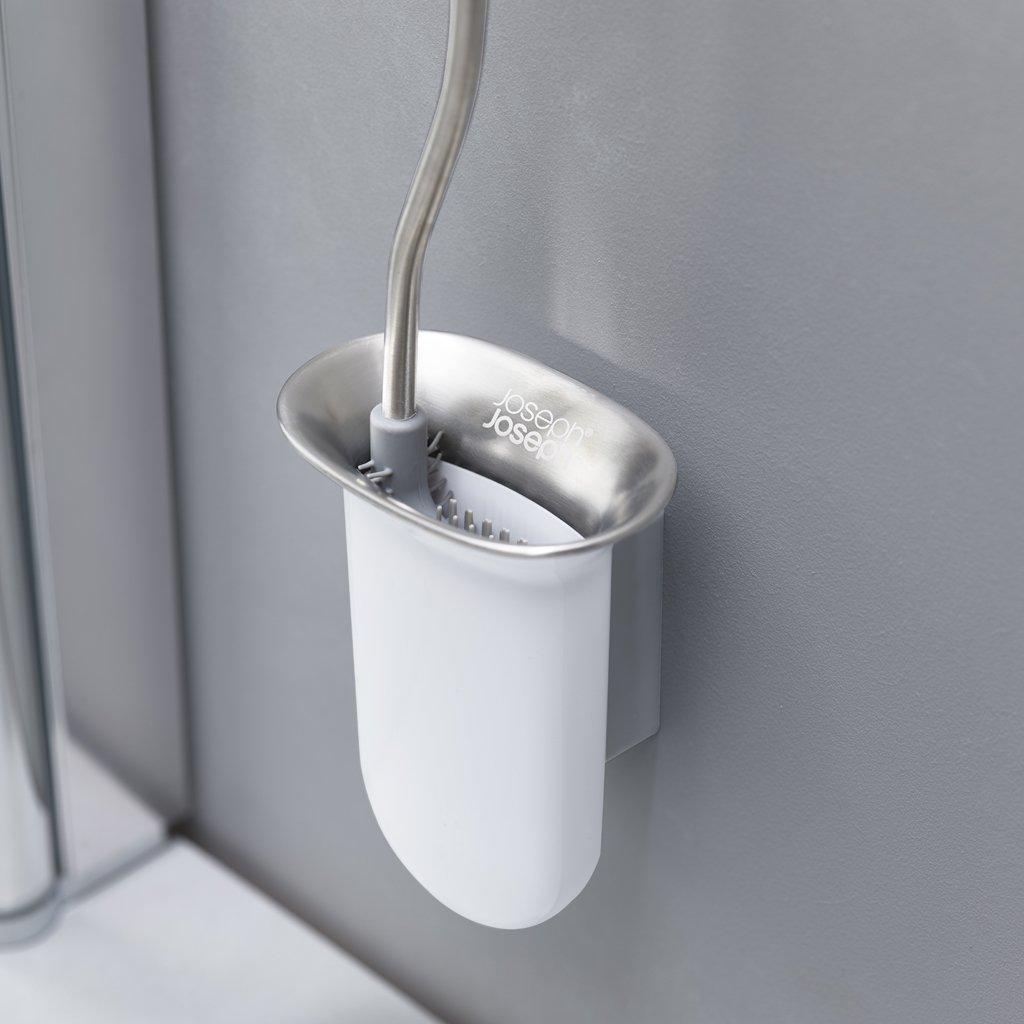 Silikónová nástenná WC kefa Joseph Joseph Flex Steel 70528