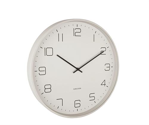 Dizajnové nástenné hodiny 5751WG Karlsson Lofty, 40cm