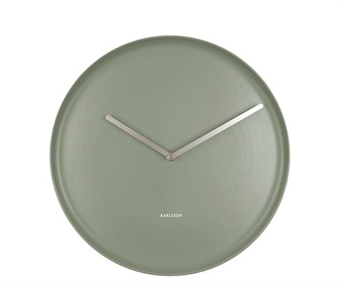 Nástenné hodiny Karlsson Plate KA5786GR, 35 cm