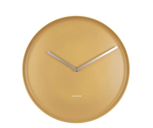Nástenné hodiny Karlsson Plate KA5786YE, 35 cm