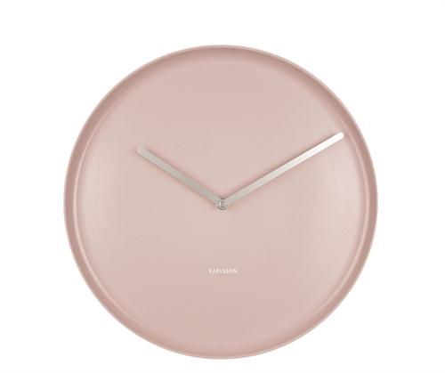 Nástenné hodiny Karlsson Plate KA5786PI, 35 cm