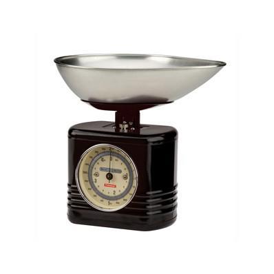 Kuchynská váha TYPHOON Vintage, čierna