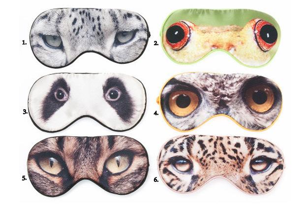 Maska na oči rôzne motívy
