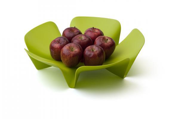 Misa na ovocie Qualy Flower Fruit Tray, veľká, zelená