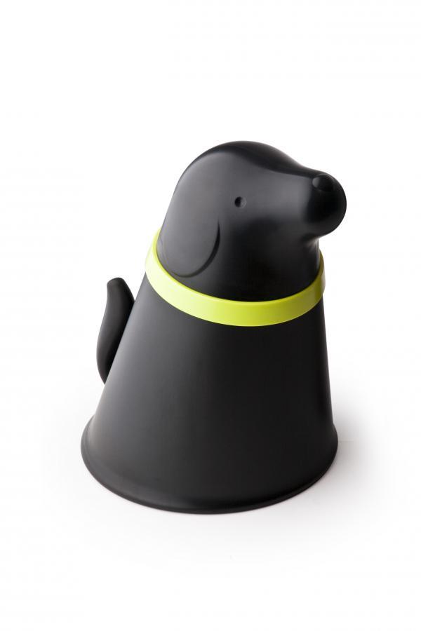 Miska so zásobníkom krmivá Qualy Pupp, čierna