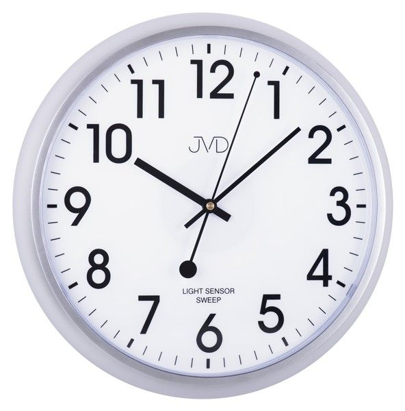 Nástěnné hodiny JVD sweep HP698.2, 34cm
