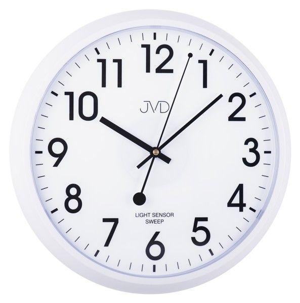 Nástěnné hodiny JVD sweep HP698.3, 34cm
