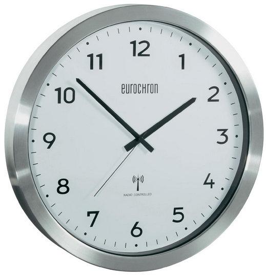 Nástenné DCF hodiny Eurochron EFWU26wh 38 cm