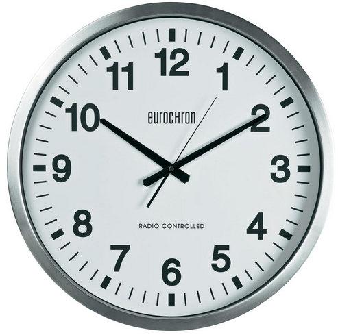 Nástenné DCF hodiny Eurochron Maxie, 50 cm