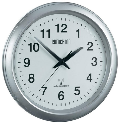 Nástenné DCF hodiny Eurochron 4600, SL, 33cm