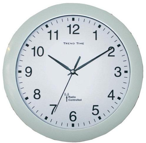Nástenné DCF hodiny Trend Line, biela 30 cm