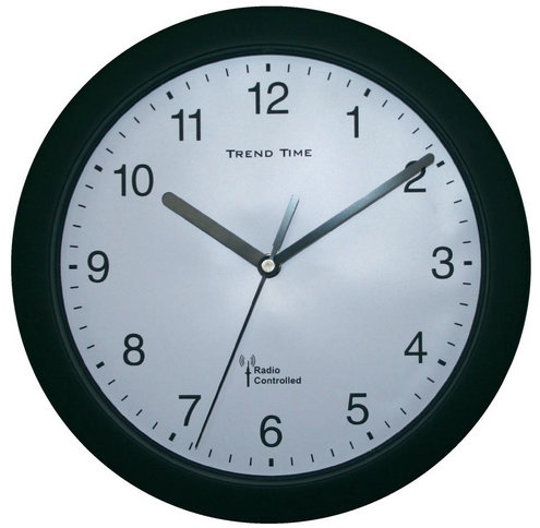 Nástenné DCF hodiny Trend Time Bk, 25 cm