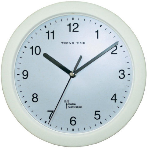 Nástenné DCF hodiny Trend Time WH, 25 cm