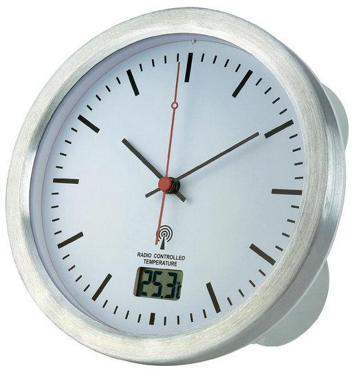 Nástenné DCF hodiny do kúpeľne Renkforce, 17 cm
