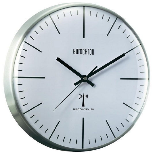 Nástenné DCF hodiny Eurochron 5S, 32cm