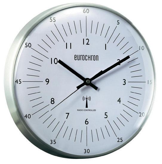 Nástenné DCF hodiny Eurochron 5N, 32cm