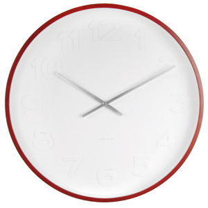 Nástenné hodiny Mr. White Karlsson 53cm