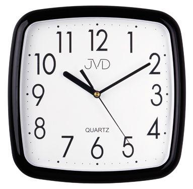 Nástenné hodiny quartz čierne Time 5.11 25cm