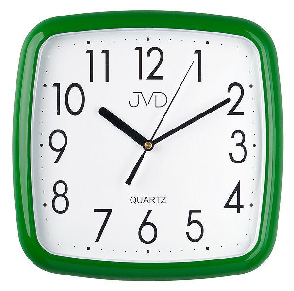 Nástenné hodiny quartz zelené Time 5.15 25cm