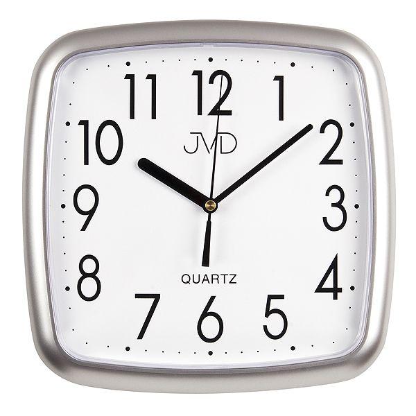 Nástenné hodiny quartz strieborné Time 5.16 25cm