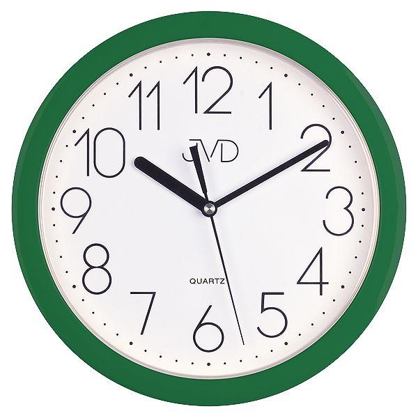 Nástenné hodiny quartz zelené Time 2.13 25cm