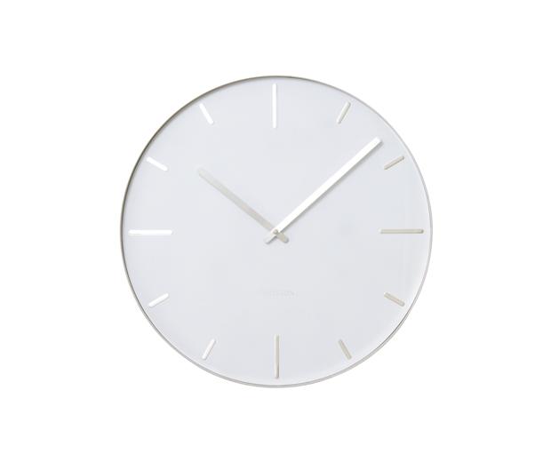 Nástenné hodiny 5444WH Karlsson 40cm