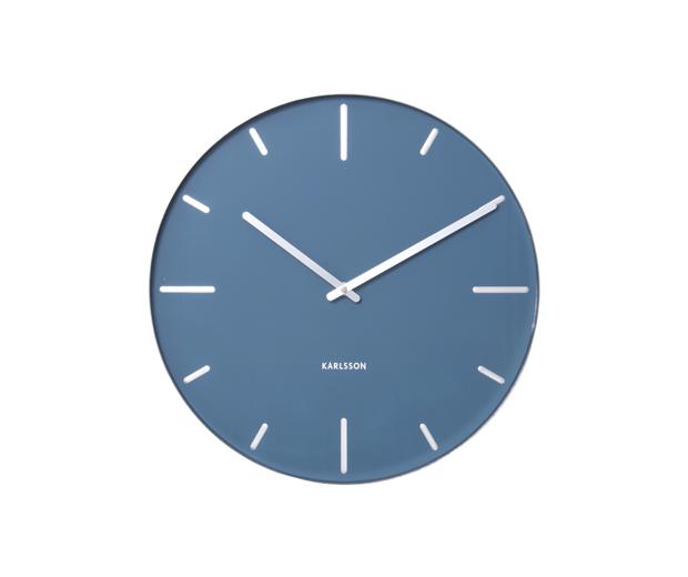 Nástenné hodiny 5444BL Karlsson 40cm