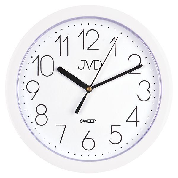 Nástenné hodiny JVD sweep HP612.1, 25cm