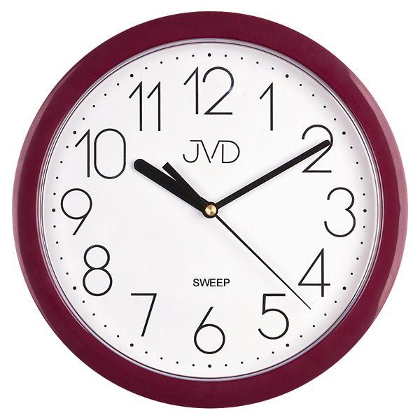 Nástenné hodiny JVD sweep HP612.10, 25cm