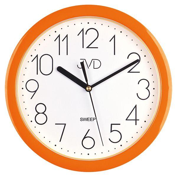 Nástenné hodiny JVD sweep HP612.11, 25cm