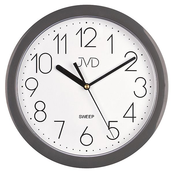 Nástenné hodiny JVD sweep HP612.14, 25cm