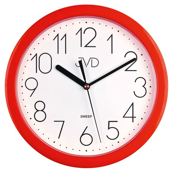 Nástenné hodiny JVD sweep HP612.2, 25cm