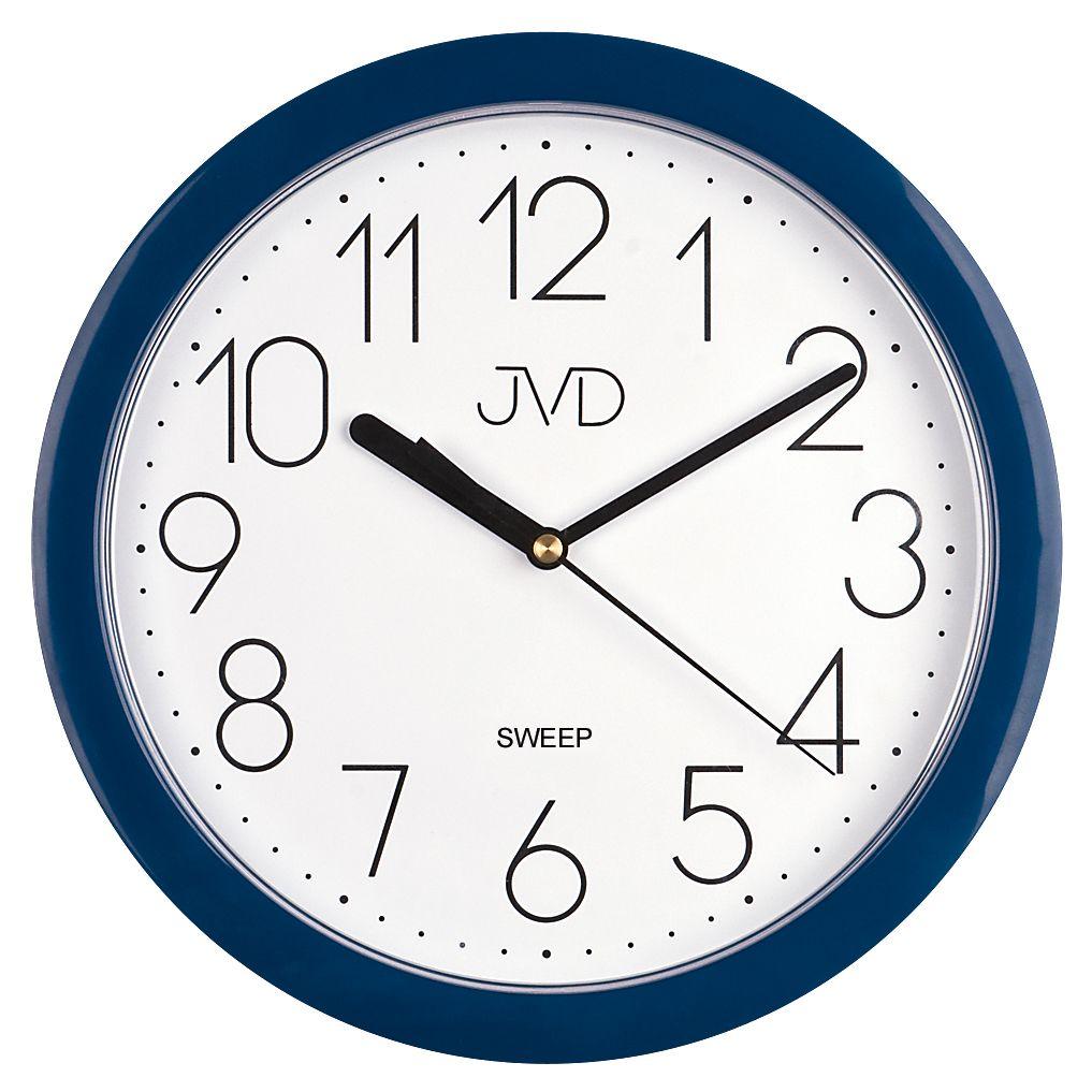 Nástenné hodiny JVD sweep HP612.17, 25cm