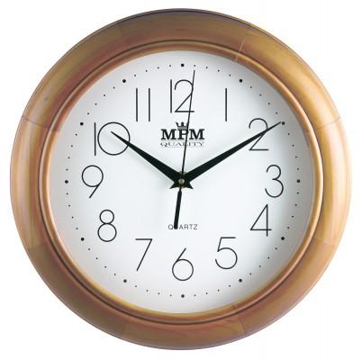Nástenné hodiny MPM, 2474.53.W - svetlé drevo, 28cm