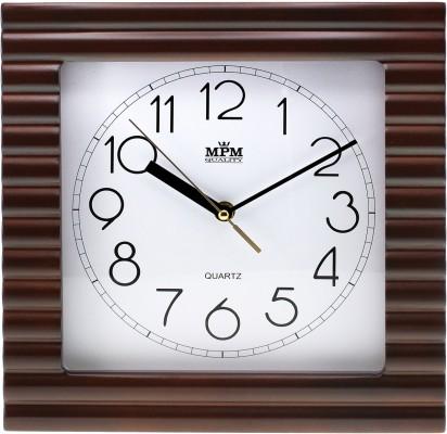 Nástenné hodiny MPM, 2700.54 - tmavé drevo, 29cm