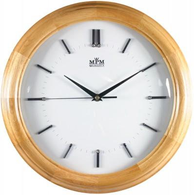 Nástenné hodiny MPM, 2828.53 - svetlé drevo, 34cm