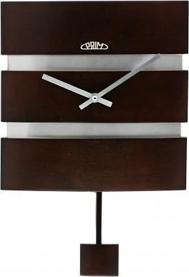 Nástenné hodiny PRIM, 3059.54 - tmavé drevo, 30cm