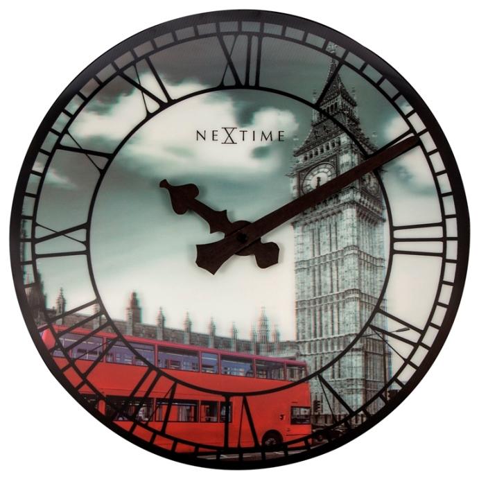 Nástenné hodiny 3D hodiny 3136 Nextime Big Ben 39cm